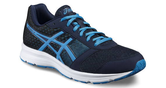 asics Patriot 8 Shoe Men Dark Navy/Blue Jewel/Black